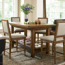 Eclectic Dining Room by Kleban Furniture Co. Inc.