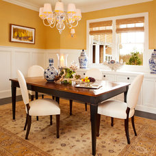 Traditional Dining Room by Garrison Hullinger Interior Design Inc.