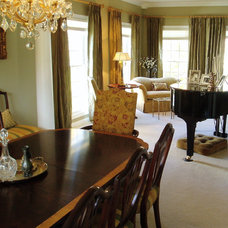 Traditional Dining Room by Gavin Design