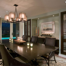 Contemporary Dining Room by GDC Construction