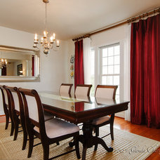 Traditional Dining Room by Glenda Cherry Photography