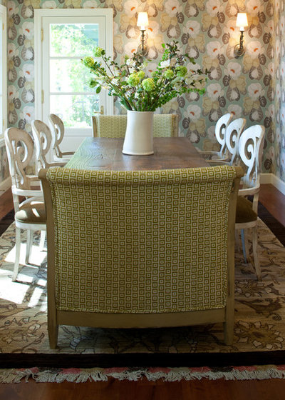 Transitional Dining Room by FRAME design co.