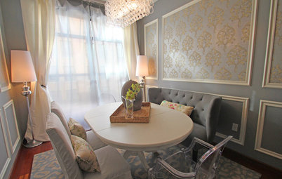 Houzz Tour: French–New York Flair in St. Paul Condo