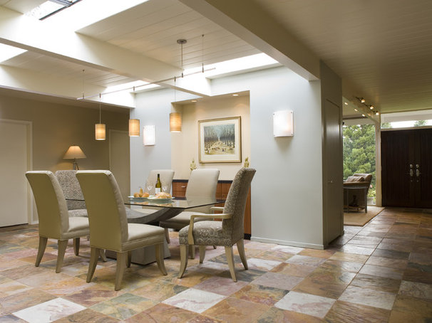 Midcentury Dining Room by Harrell Remodeling