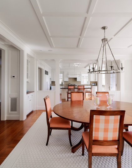 Traditional Dining Room by Hart Associates Architects, Inc.