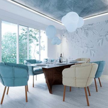 Dining room I Interior Designer Newport Beach