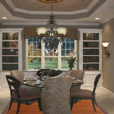Traditional Dining Room by LampsUSA