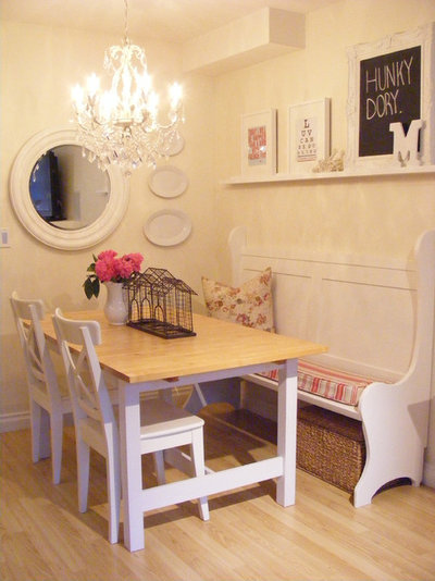 Shabby-chic Style Dining Room Dining Room