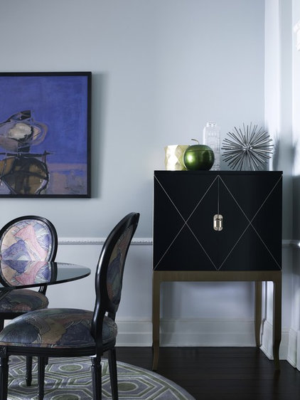 eclectic dining room by Greg Natale