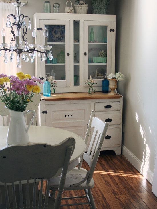 painted hutch | houzz