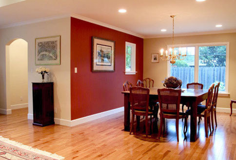 Red Accent Wall | Houzz