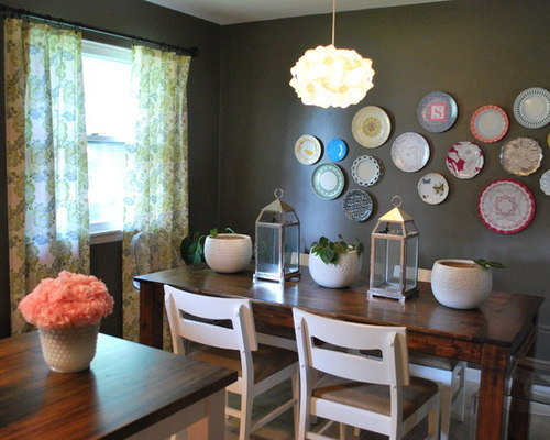 Wall decor for dining room houzz for Houzz dining room wall art