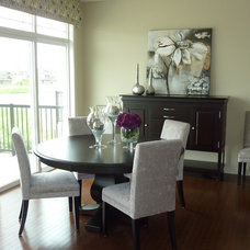 Modern Dining Room by Willow Tree Interiors