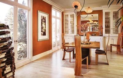 Treat Your Rooms to Pumpkin Pie Orange