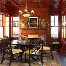 Traditional Dining Room by Indicia Interior Design