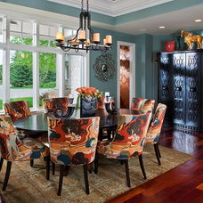 Contemporary Dining Room by Inspired By Design, LLC