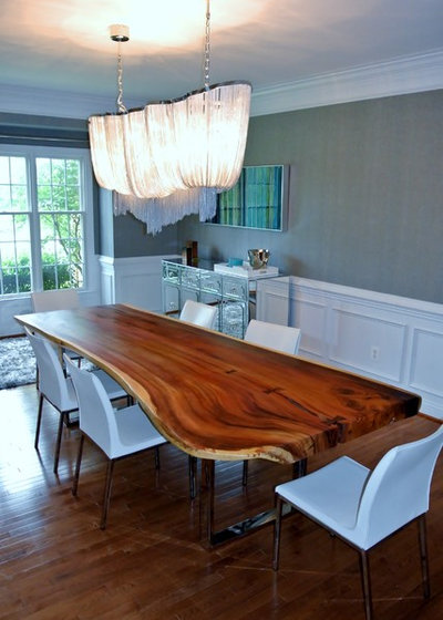Contemporary Dining Room by Interior Style by Marisa Moore