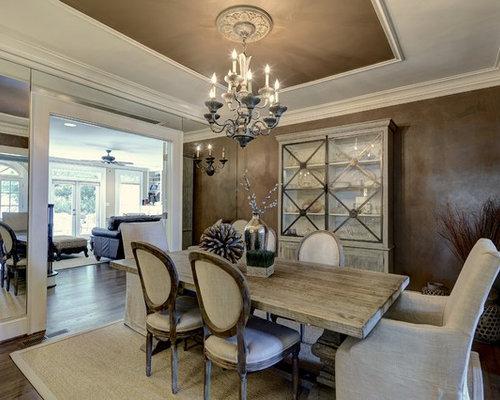 15 Best Dark Wood Floor Enclosed Dining Room Ideas Decoration