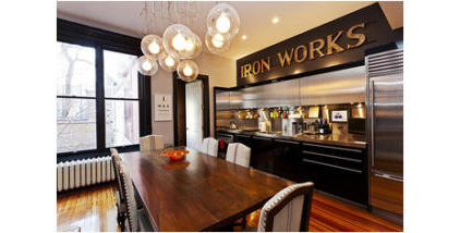 Contemporary Dining Room by JC LUXE INTERIORS