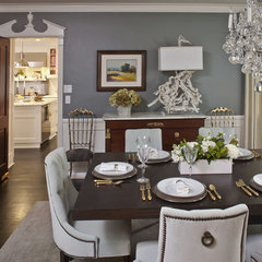 traditional dining room by Jeneration Interiors