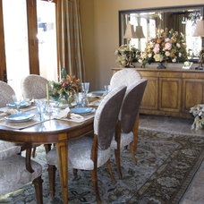 Traditional Dining Room by Jennifer Ball, Allied ASID