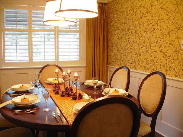 Traditional Dining Room by Jennifer - Rambling Renovators