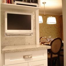 Contemporary Dining Room by Jennifer - Rambling Renovators
