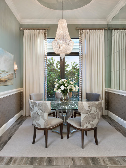 Dining room curtains home design ideas pictures remodel for Dining room drapes