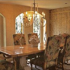 Dining Room by Joani Stewart-Georgi - Montana Ave. Interiors