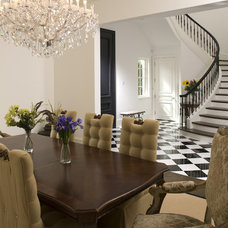 Mediterranean Dining Room by John Kraemer & Sons