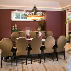 Traditional Dining Room by John Kraemer & Sons