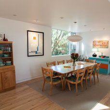 Contemporary Dining Room by John Prindle