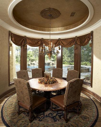 Mediterranean Dining Room by John Termeer