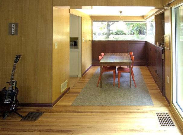 Midcentury Dining Room by John Prindle