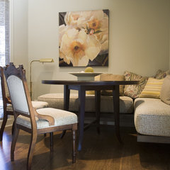 contemporary dining room by Kaufman Homes, Inc.