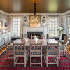 Room of the Day: Pattern-Happy Dining Room With an Old Soul