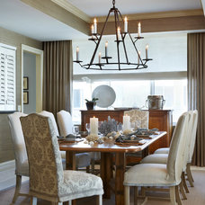 Traditional Dining Room by L K DeFrances & Associates