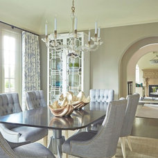 Contemporary Dining Room by Martha O'Hara Interiors