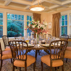 Traditional Dining Room by Laurie S Woods, ASID