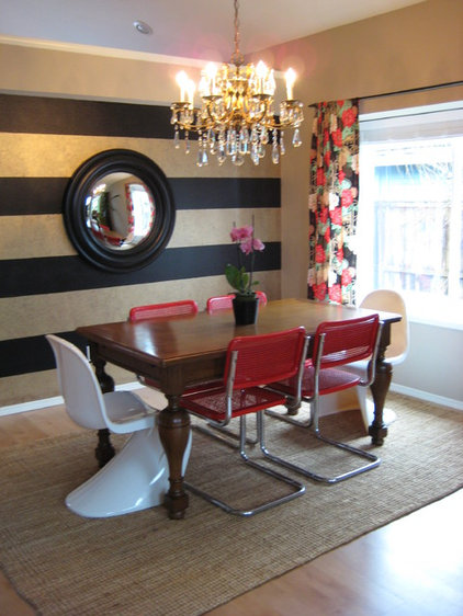 Eclectic Dining Room by Leah