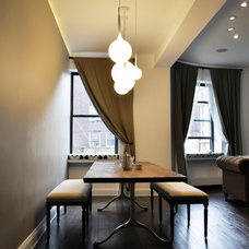 Contemporary Dining Room by Leib Designs