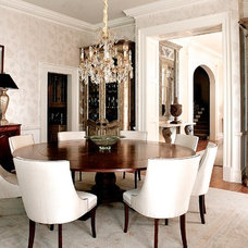 Traditional Dining Room by LGB Interiors