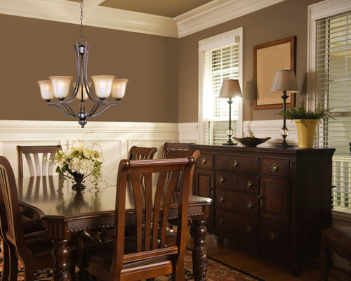 Small craftsman dining room design ideas remodels photos for Small dining room ideas houzz