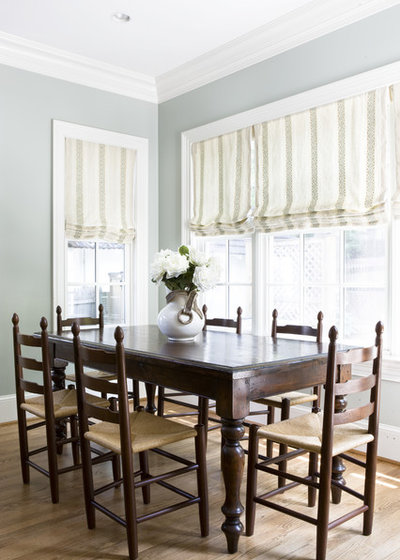 Traditional Dining Room by Lily Mae Design