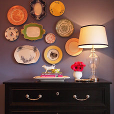 Eclectic Dining Room by Little Black Door