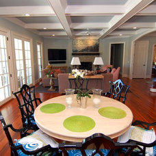 Traditional Dining Room by RMB Building & Design