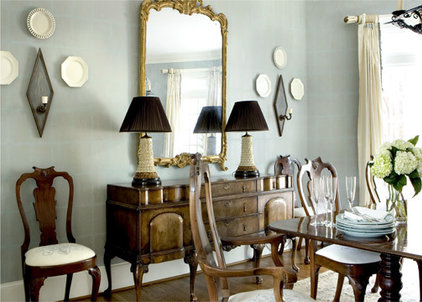 traditional dining room by Liz Williams Interiors
