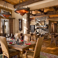 Traditional Dining Room by Locati Architects