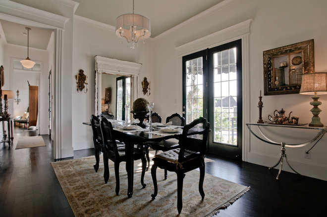 Traditional Dining Room by Lori Rourk Interiors Inc.