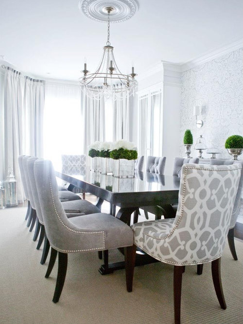 custom upholstered dining chairs home design ideas renovations